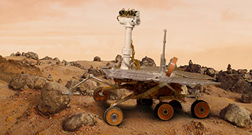 MapleSim Breaks New Ground in Hardware-in-the-Loop Real-Time Simulation for Planetary Rovers